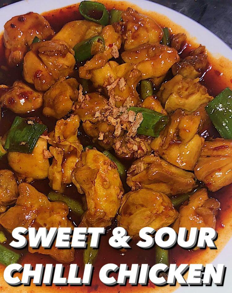 Sweet Sour Chilli Chicken