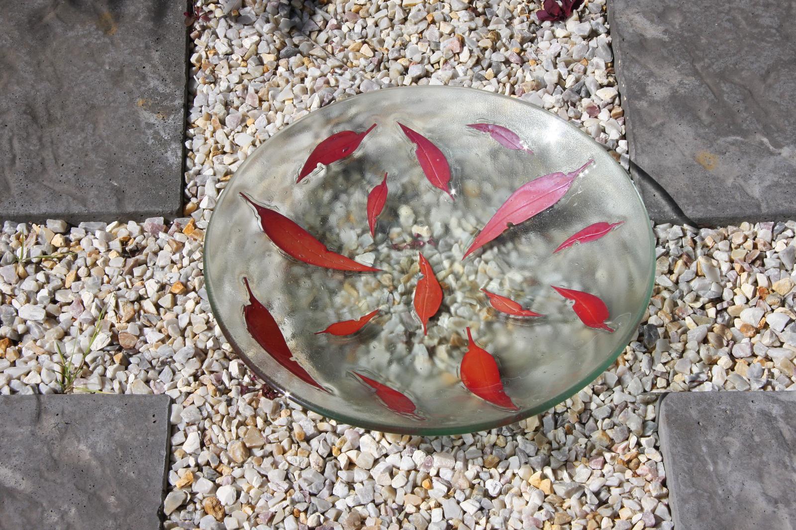 Fallen Leaves Large Bowl