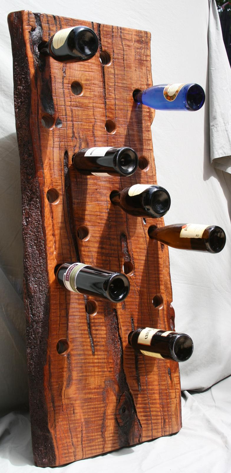Jarrah Wine rack