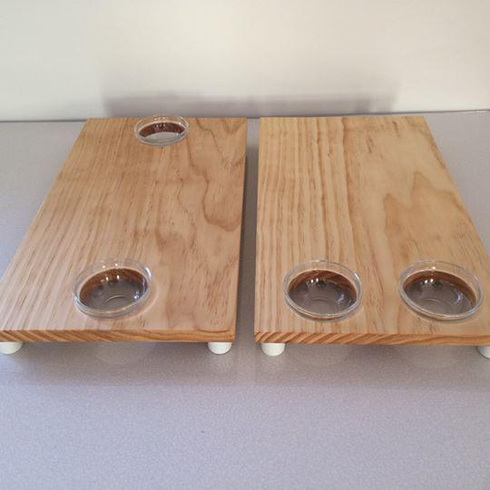 Serving Board - 2 bowl