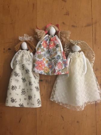 Miniature Clay Dolls