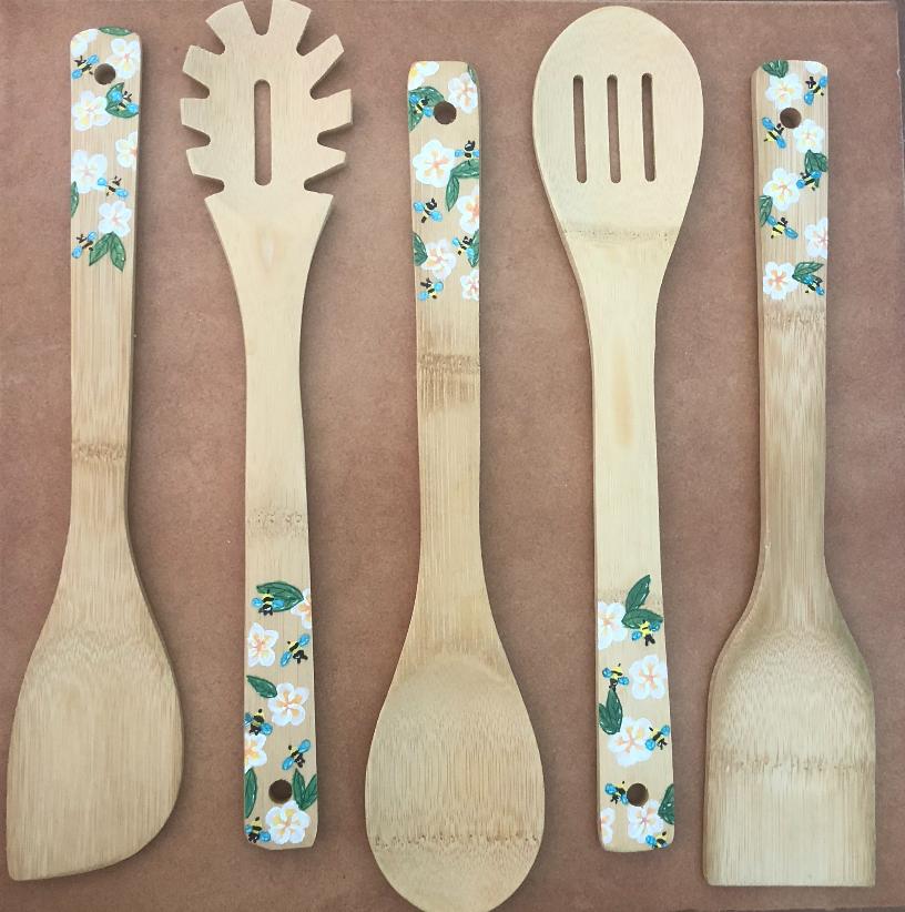 Wooden spoons