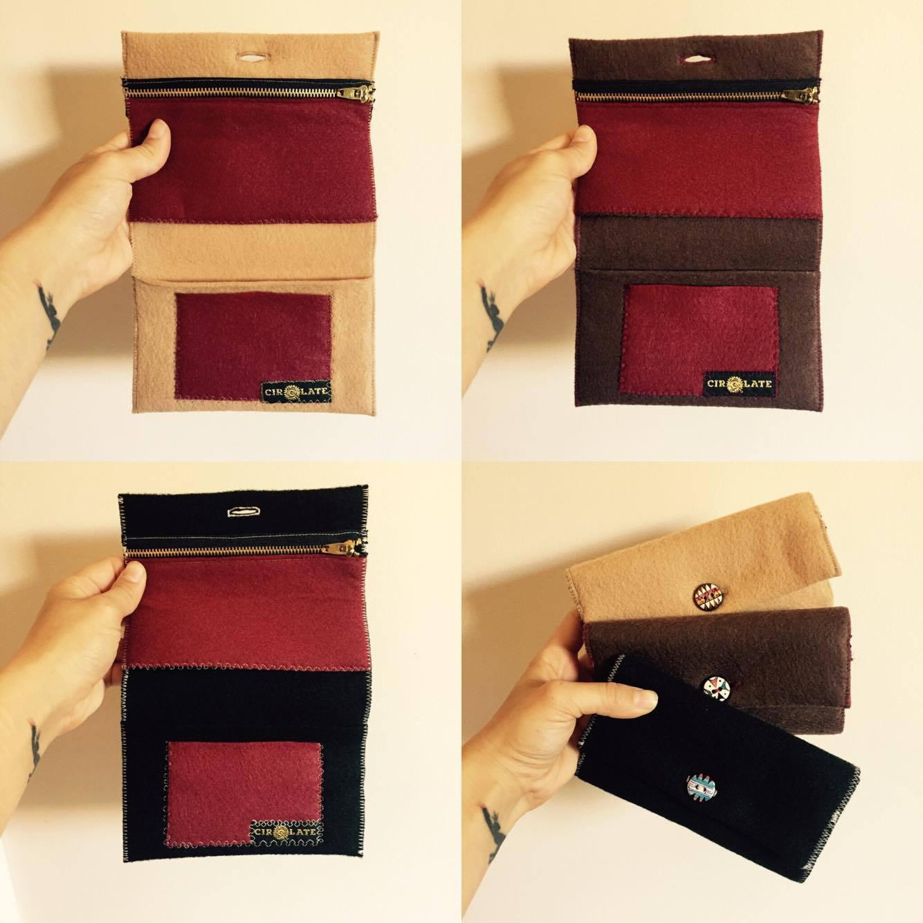 Handy Pouch available in a range of colours
