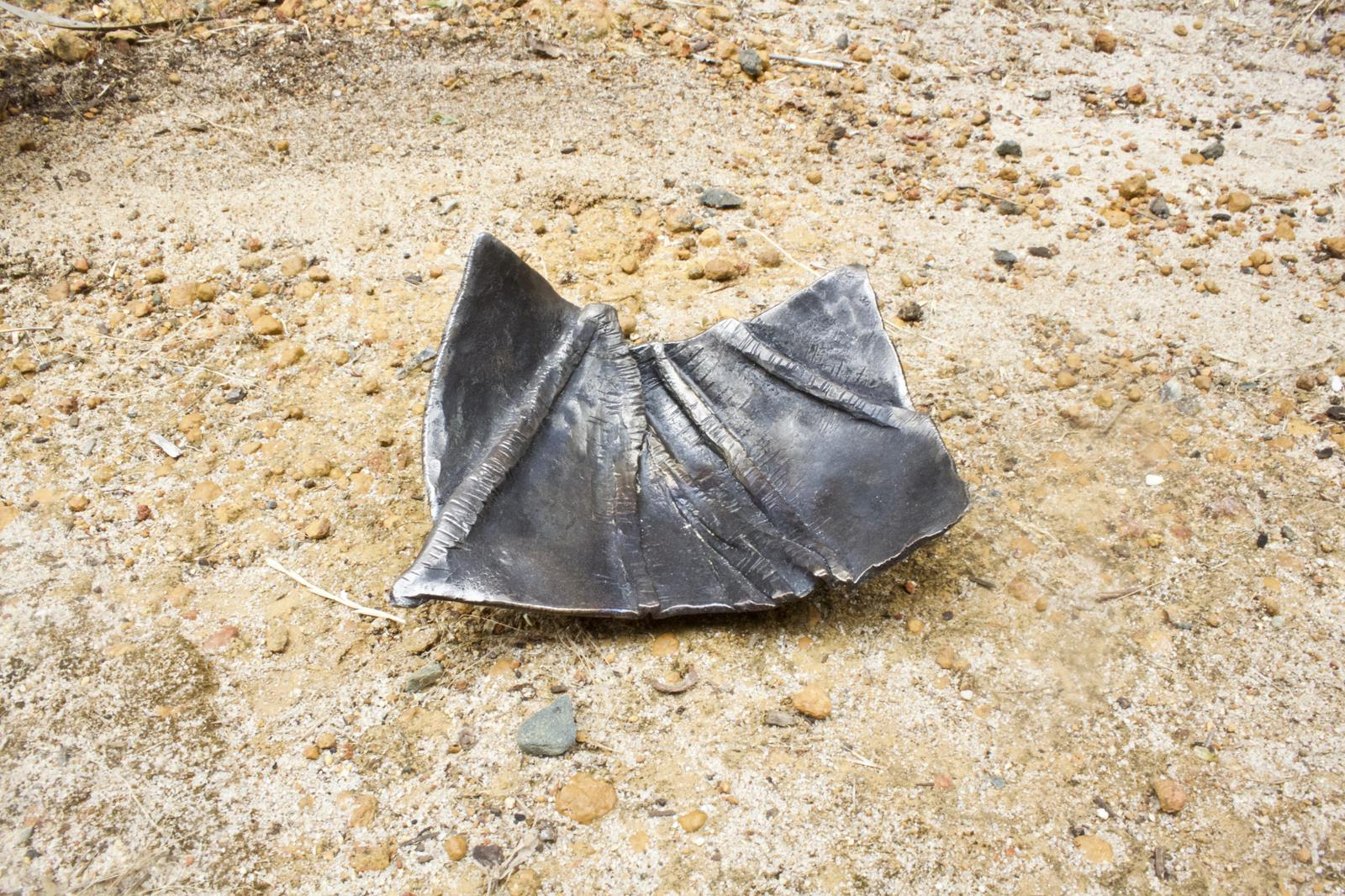 Hand forged steel - Fold Formed Dish