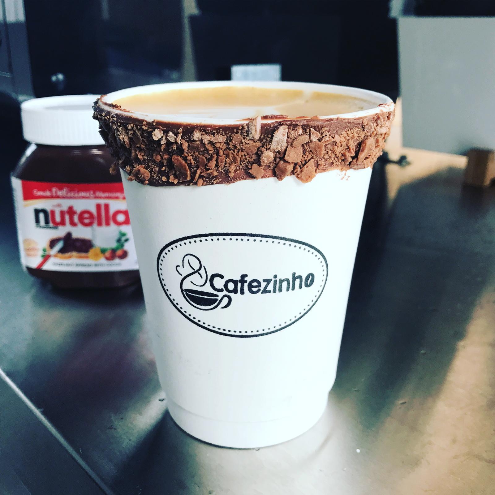 Coffee with Nutella borders