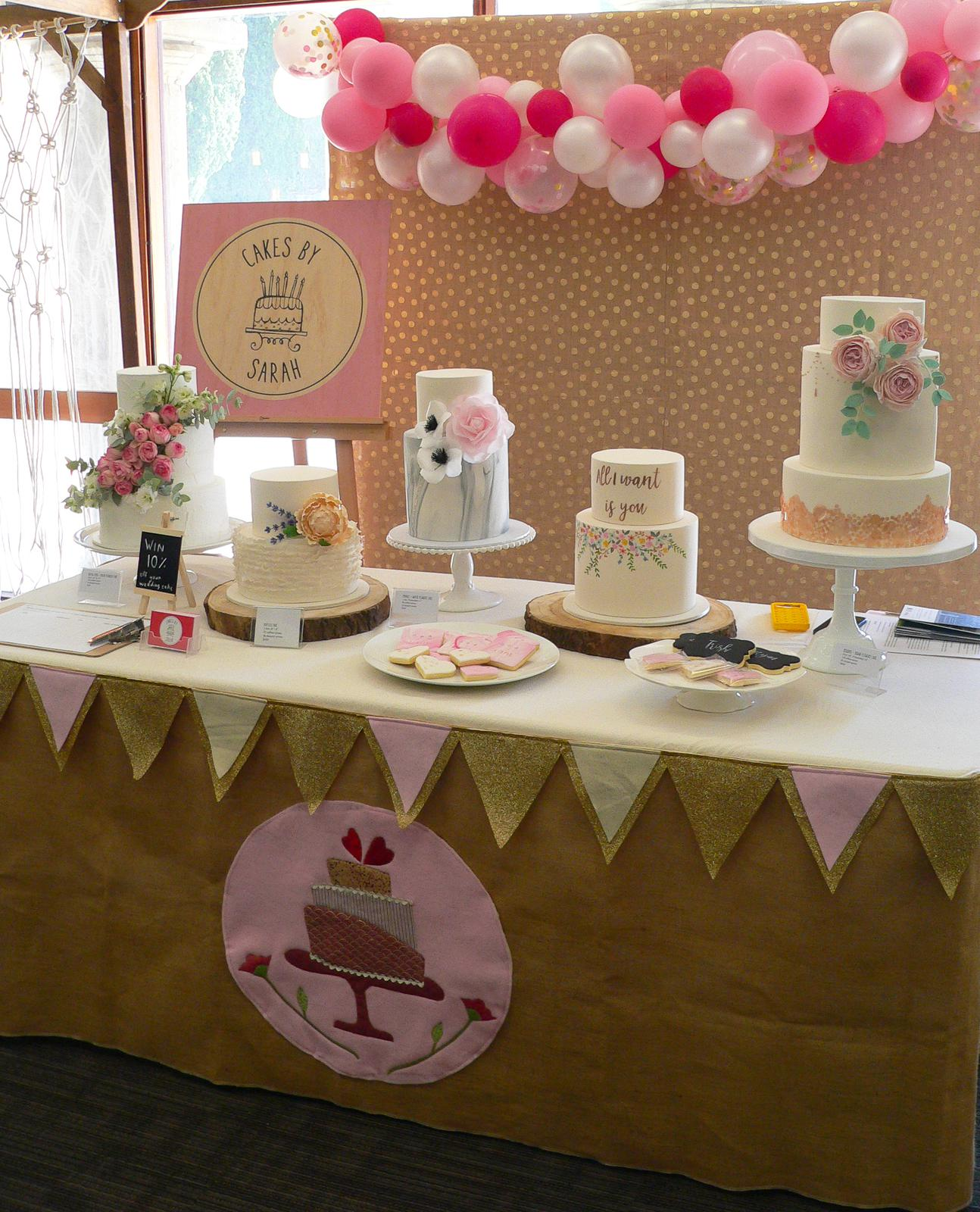 Cakes by Sarah stall
