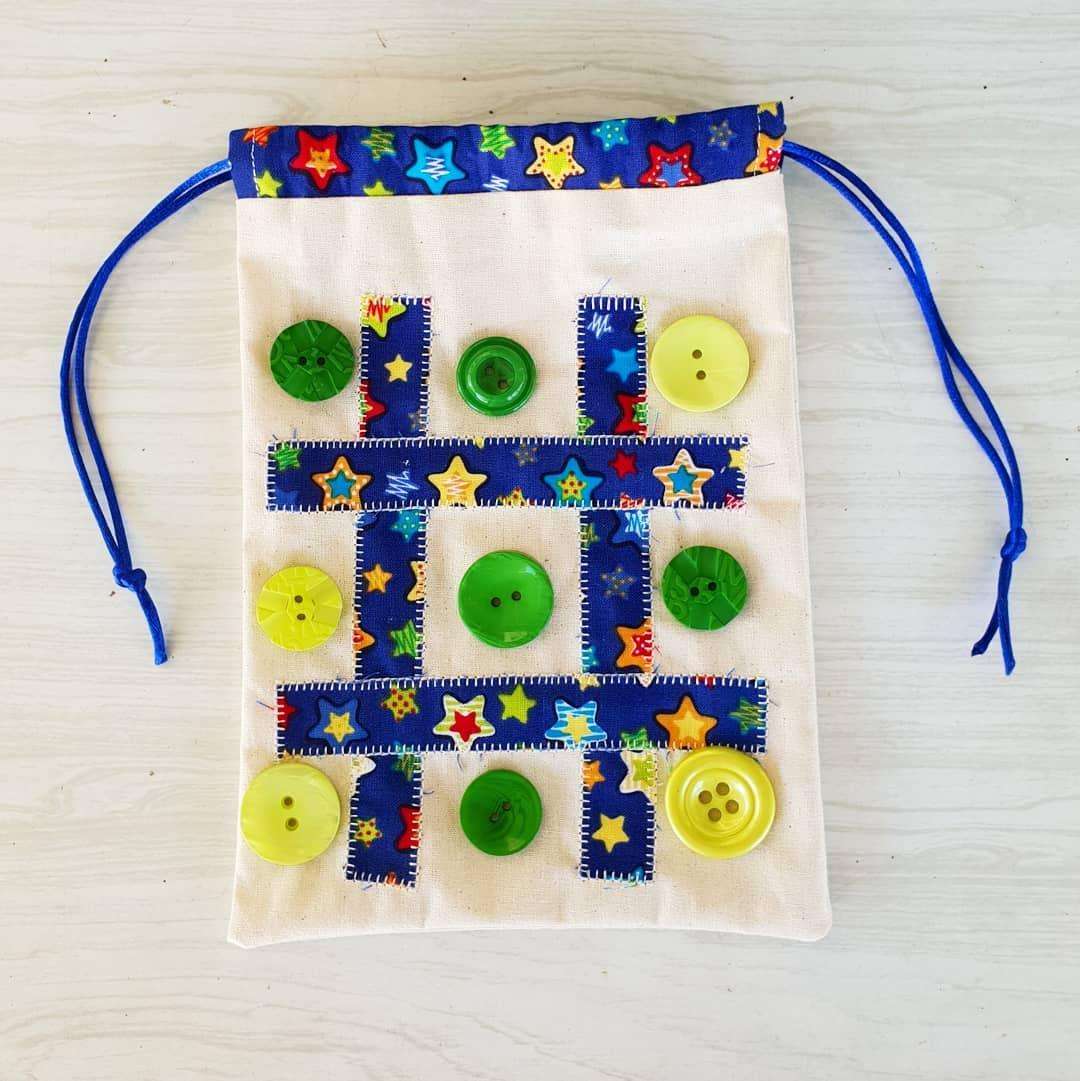 Tic Tac Toe Bag