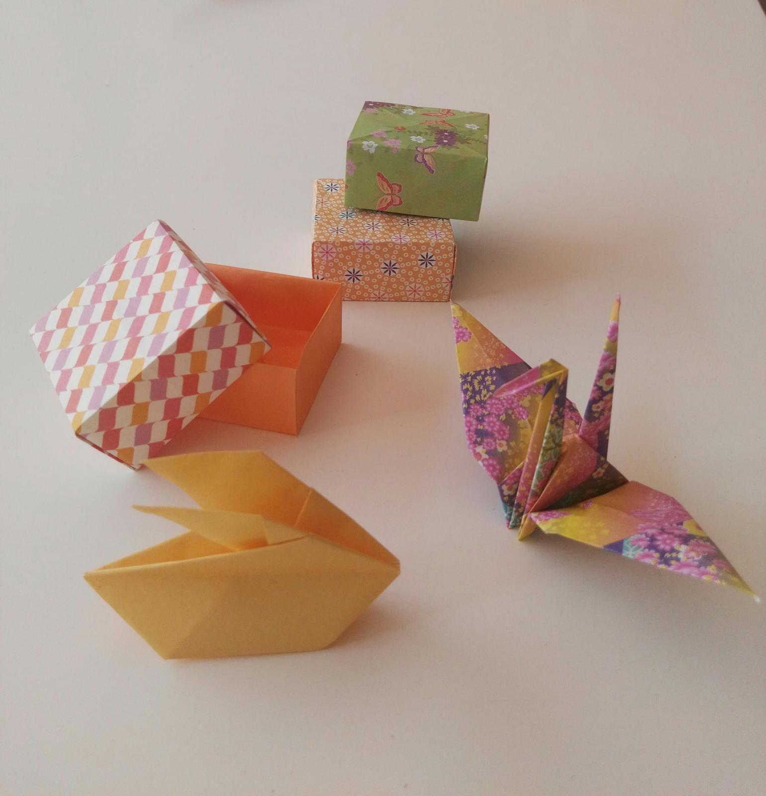 ORIGAMI Cranes, Rabbits & Boxes