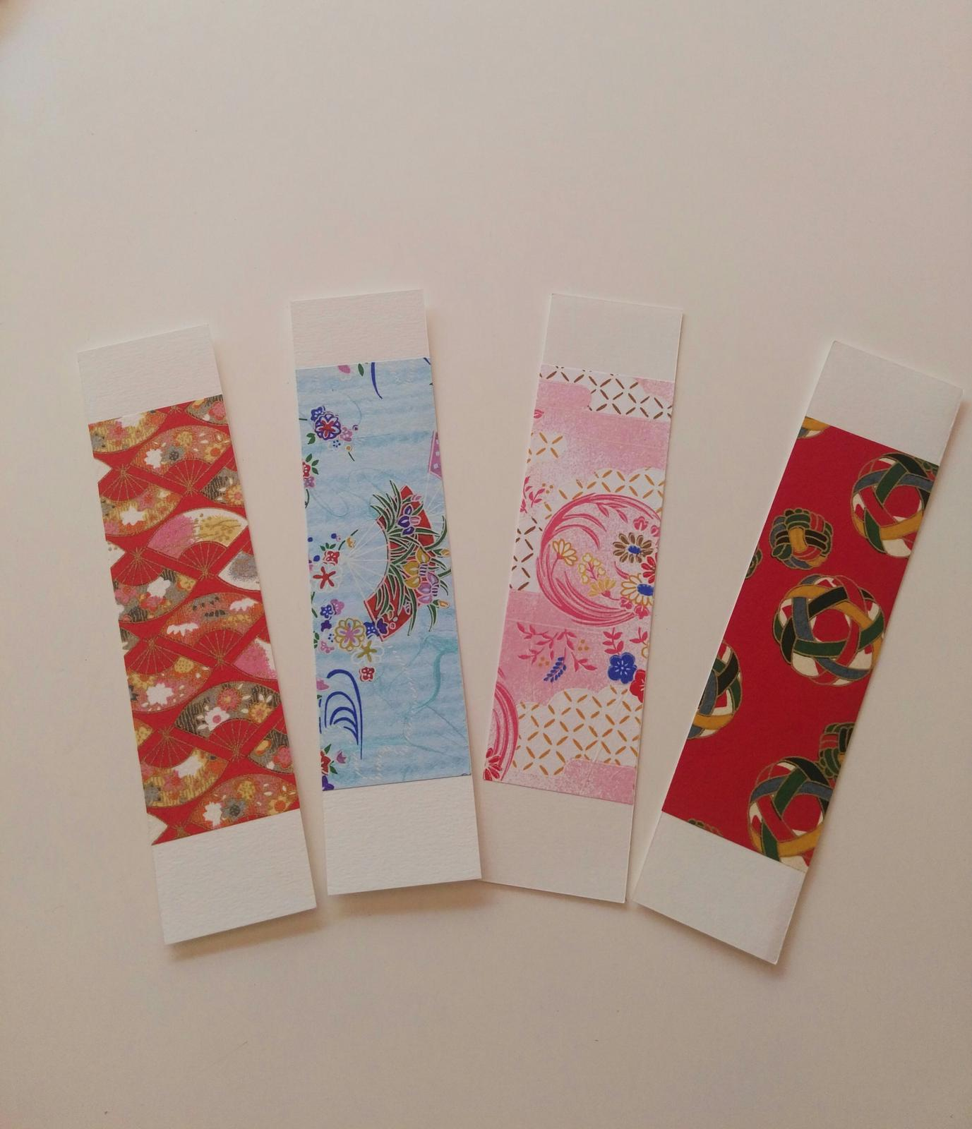 Bookmarks with Japanese WASHI paper
