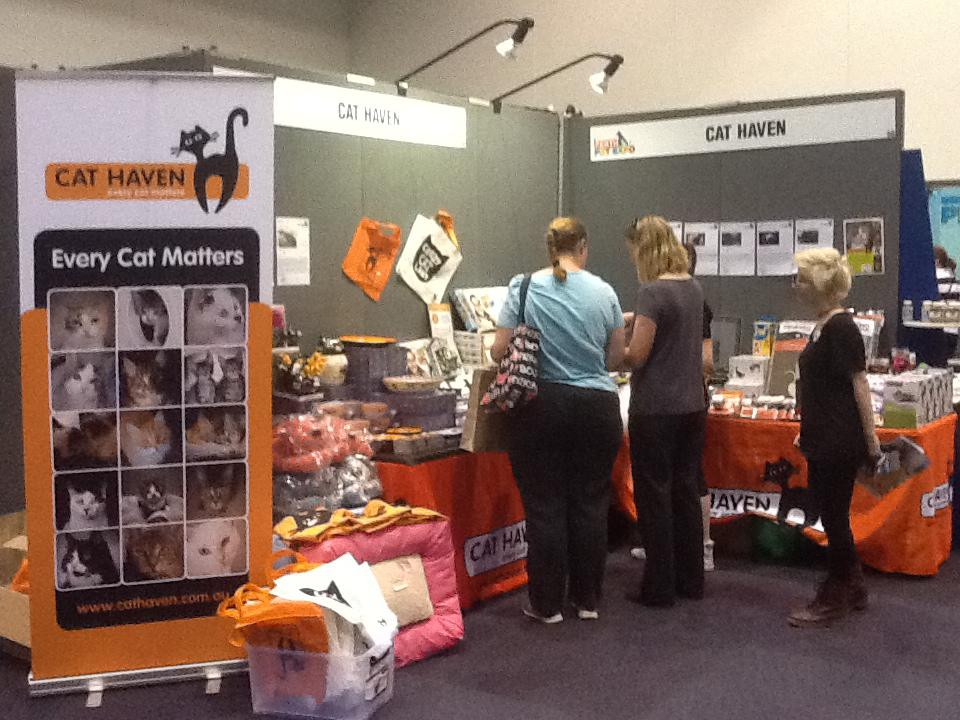 Cat Haven Pet Expo Stall, Claremont