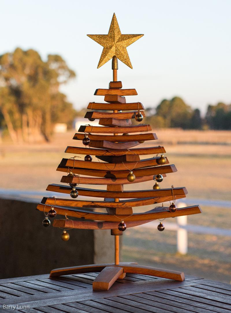 Wine stave Christmas Tree
