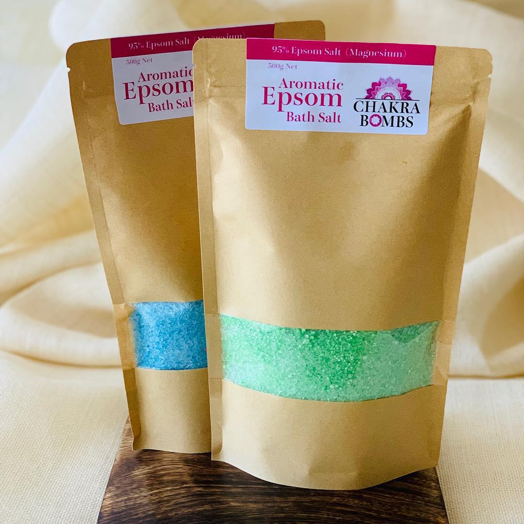 Aromatic Epsom Bath Salt 500g