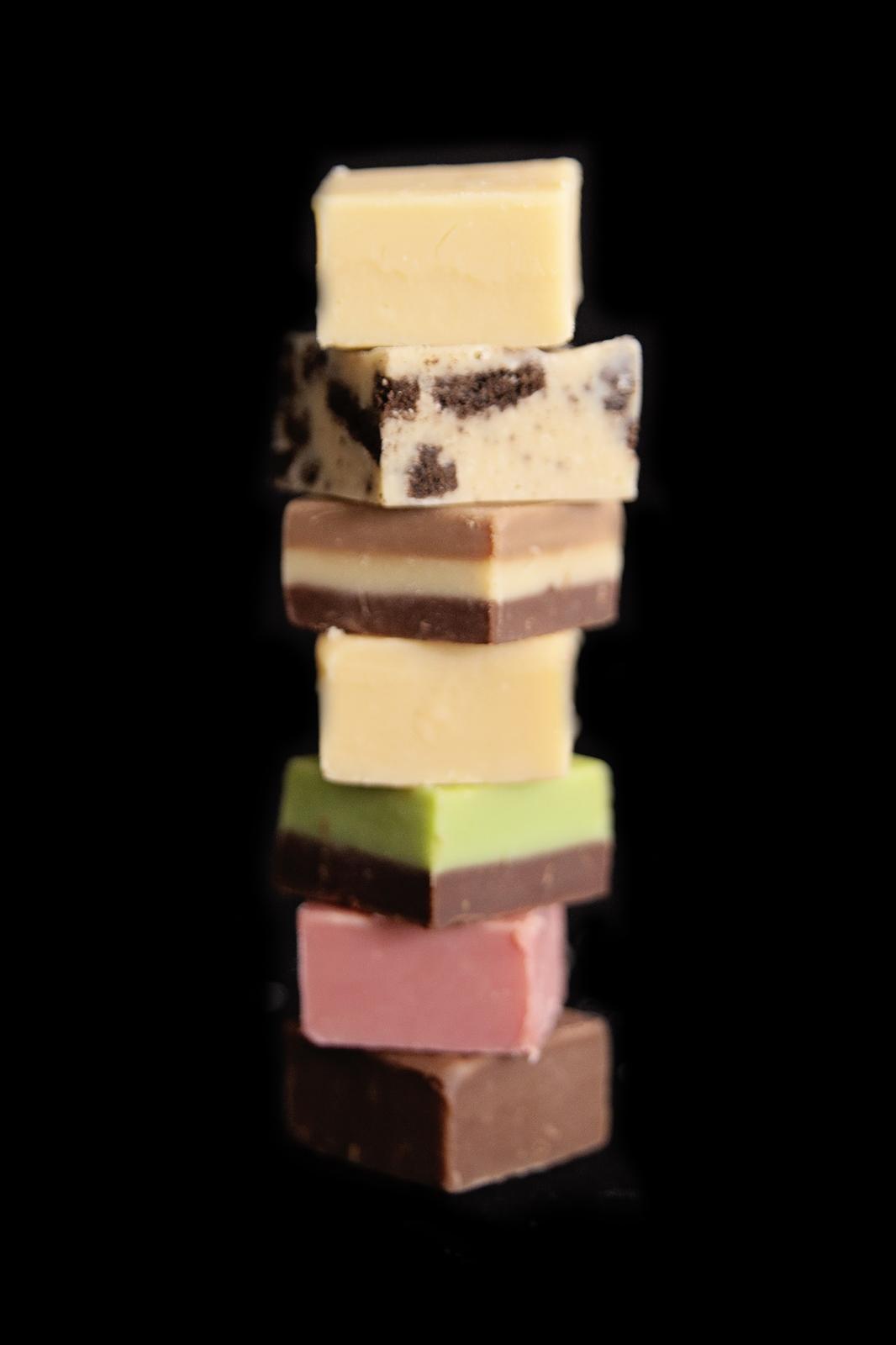 Variety of Fudge