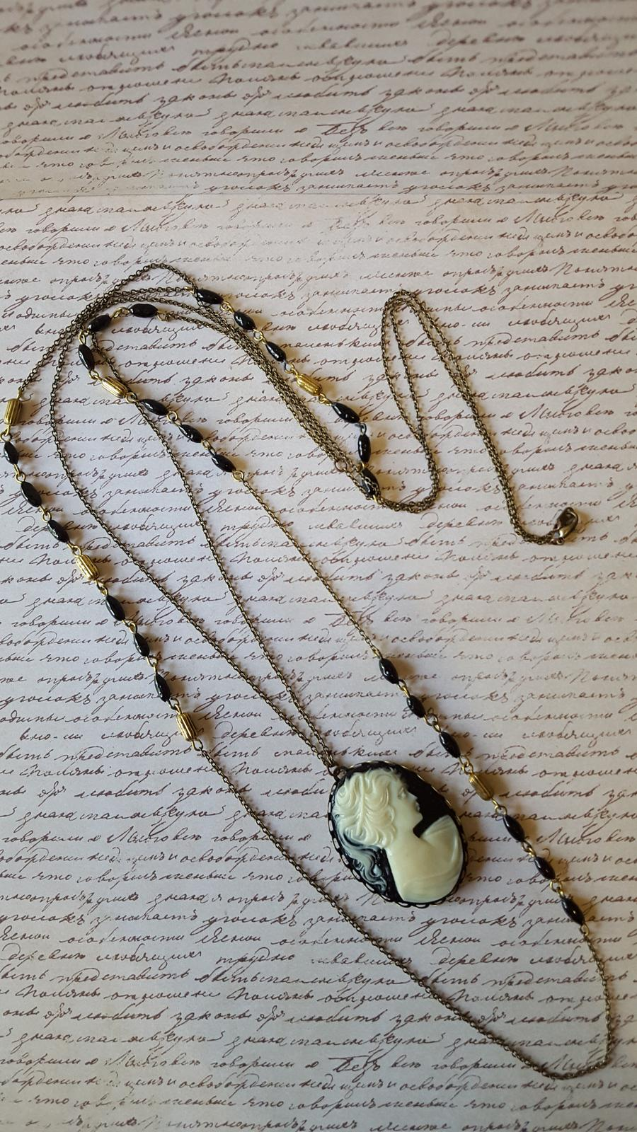 Layered Cameo Necklace
