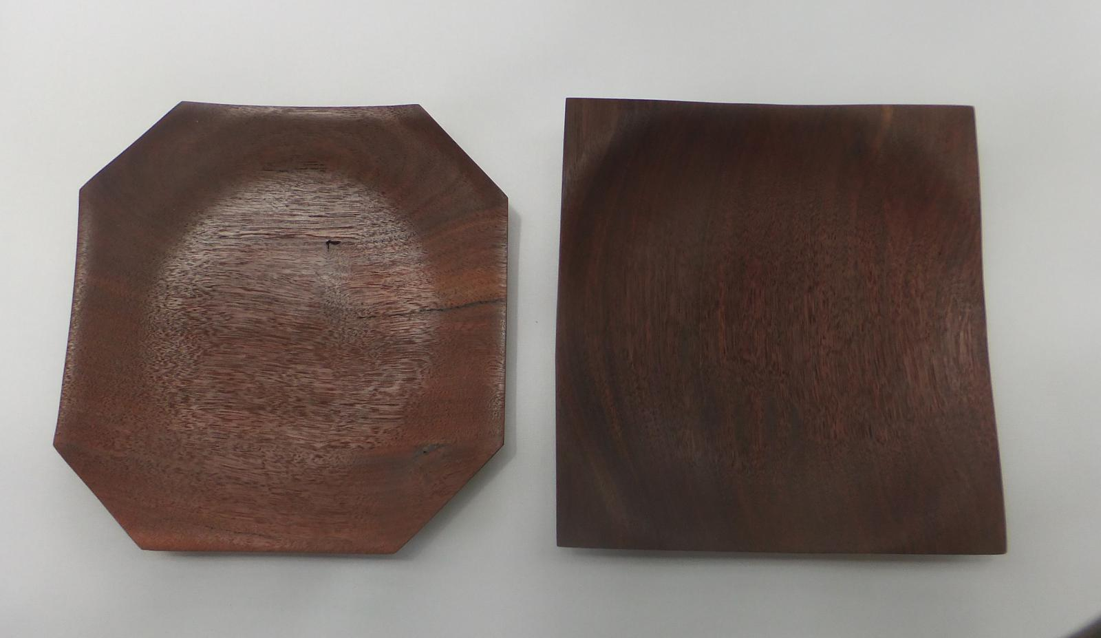 Turned platters - diferent shape from standard round.