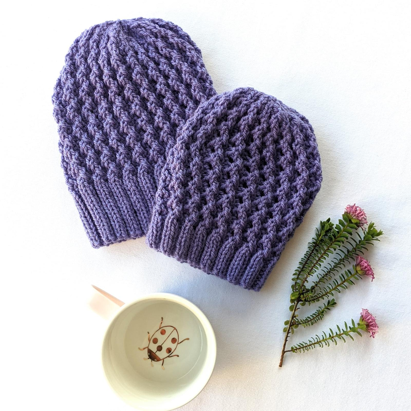 Beautiful lace beanies - available in baby, child and adult sizes