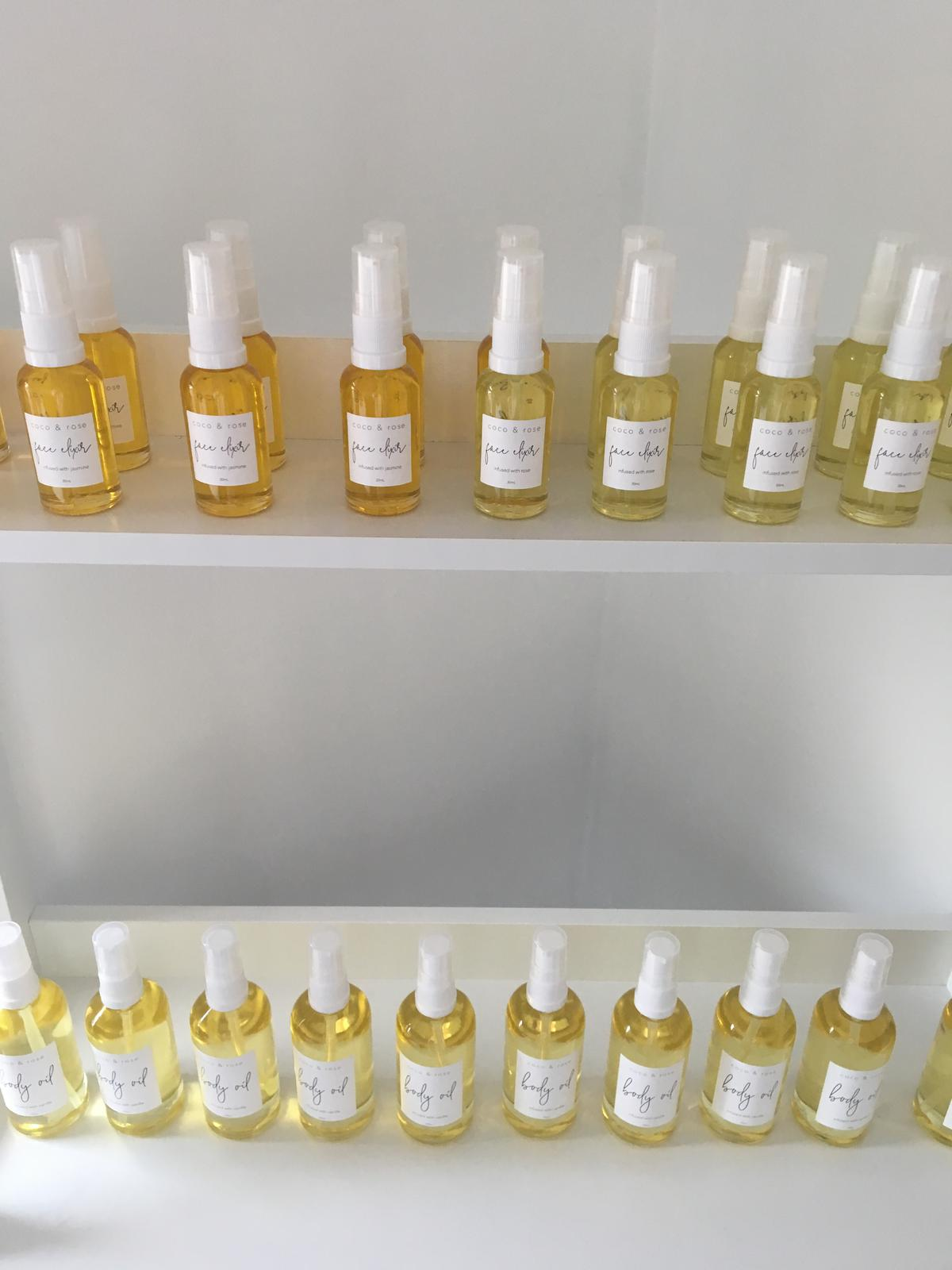 Face & Body oils