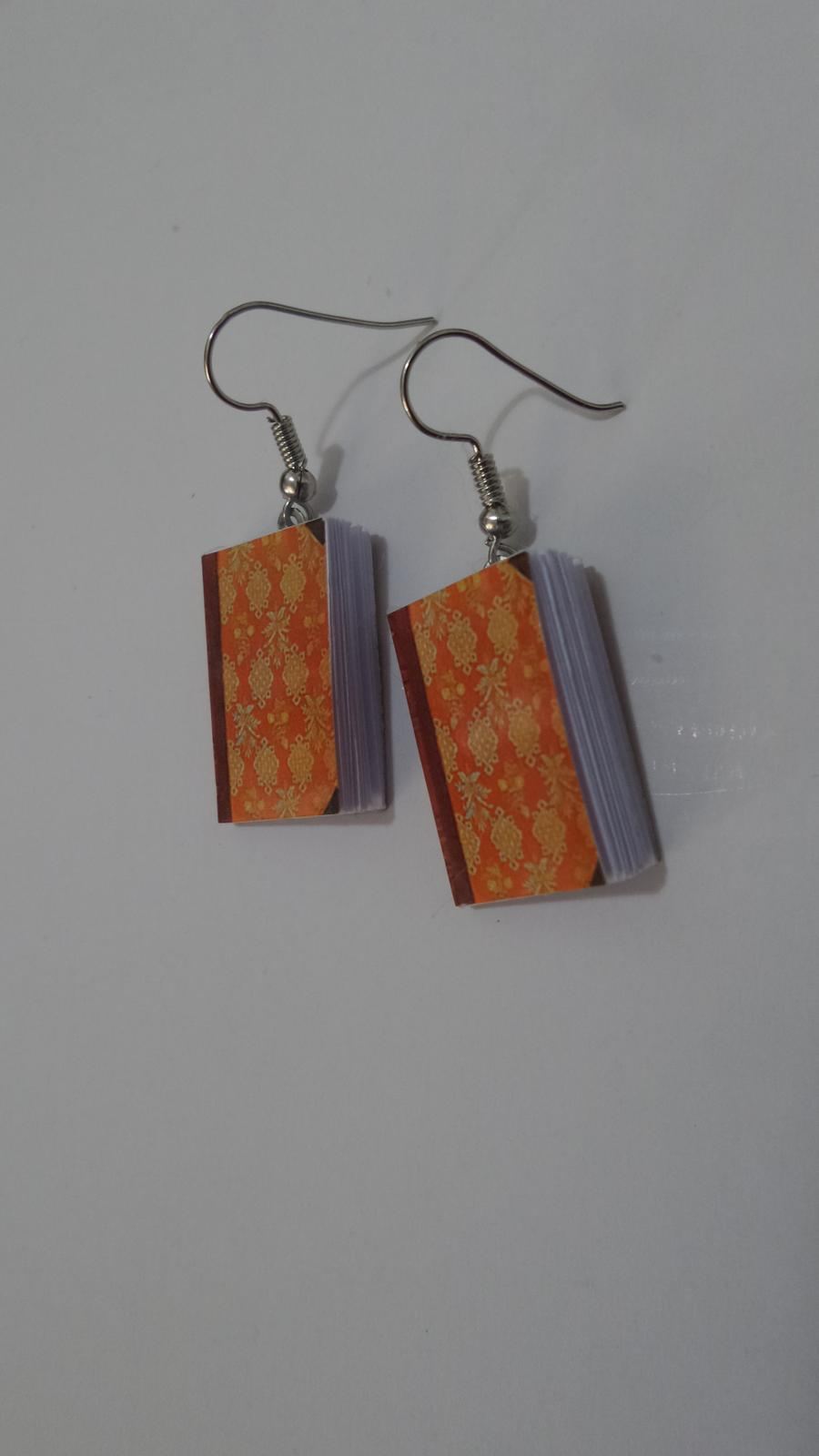 books Earrings