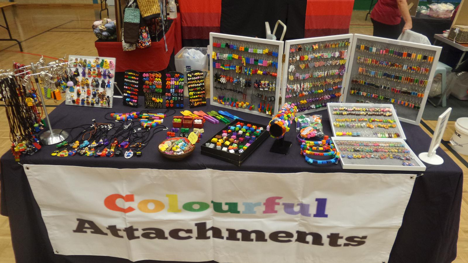 Display stall Colourful Attachments