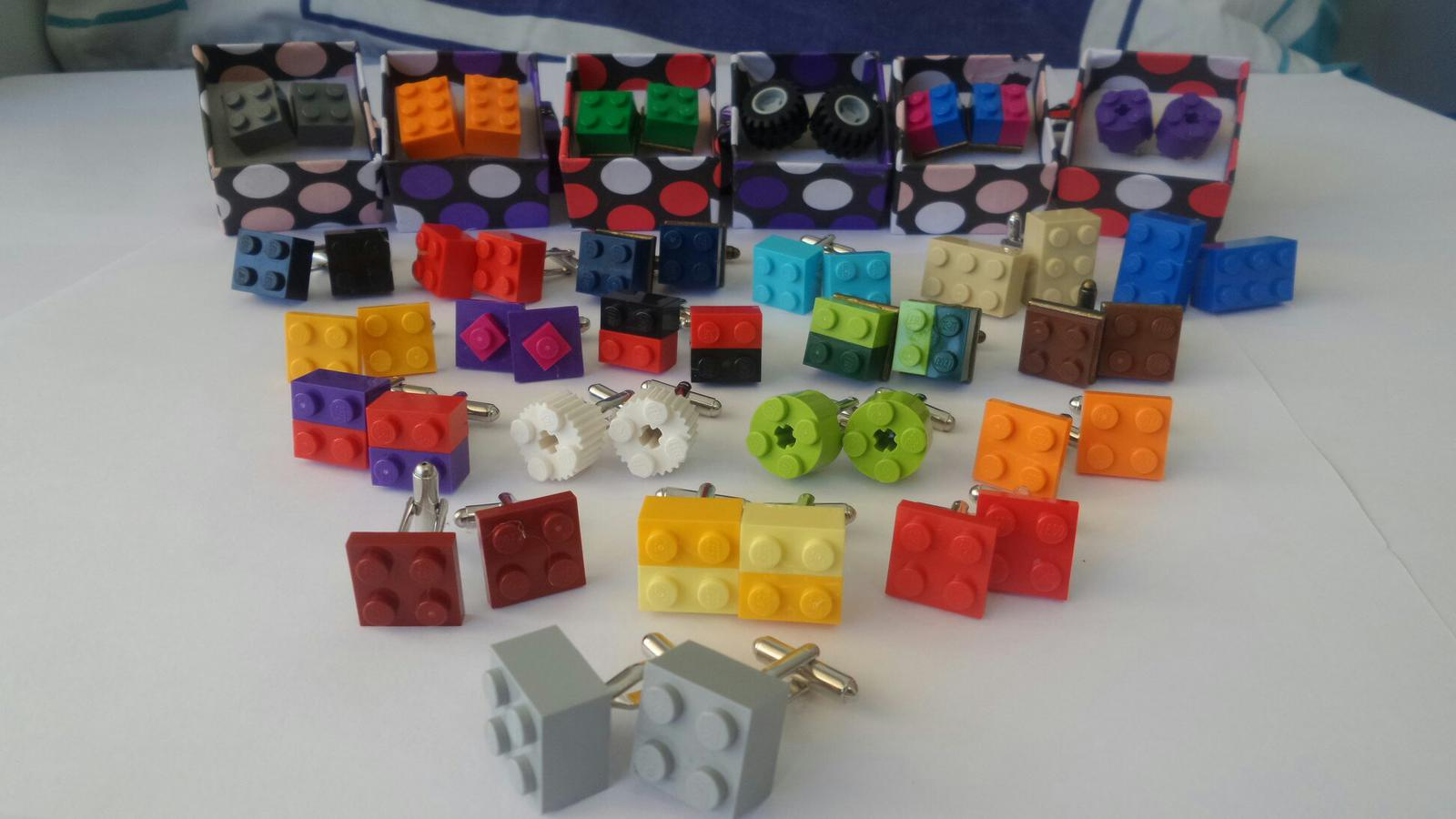 Cufflinks Colourful Attachment