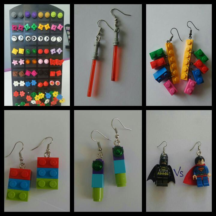 Lego blocks Earrings