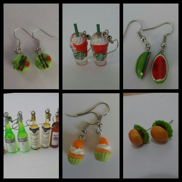 Dollhouse miniatures Earrings