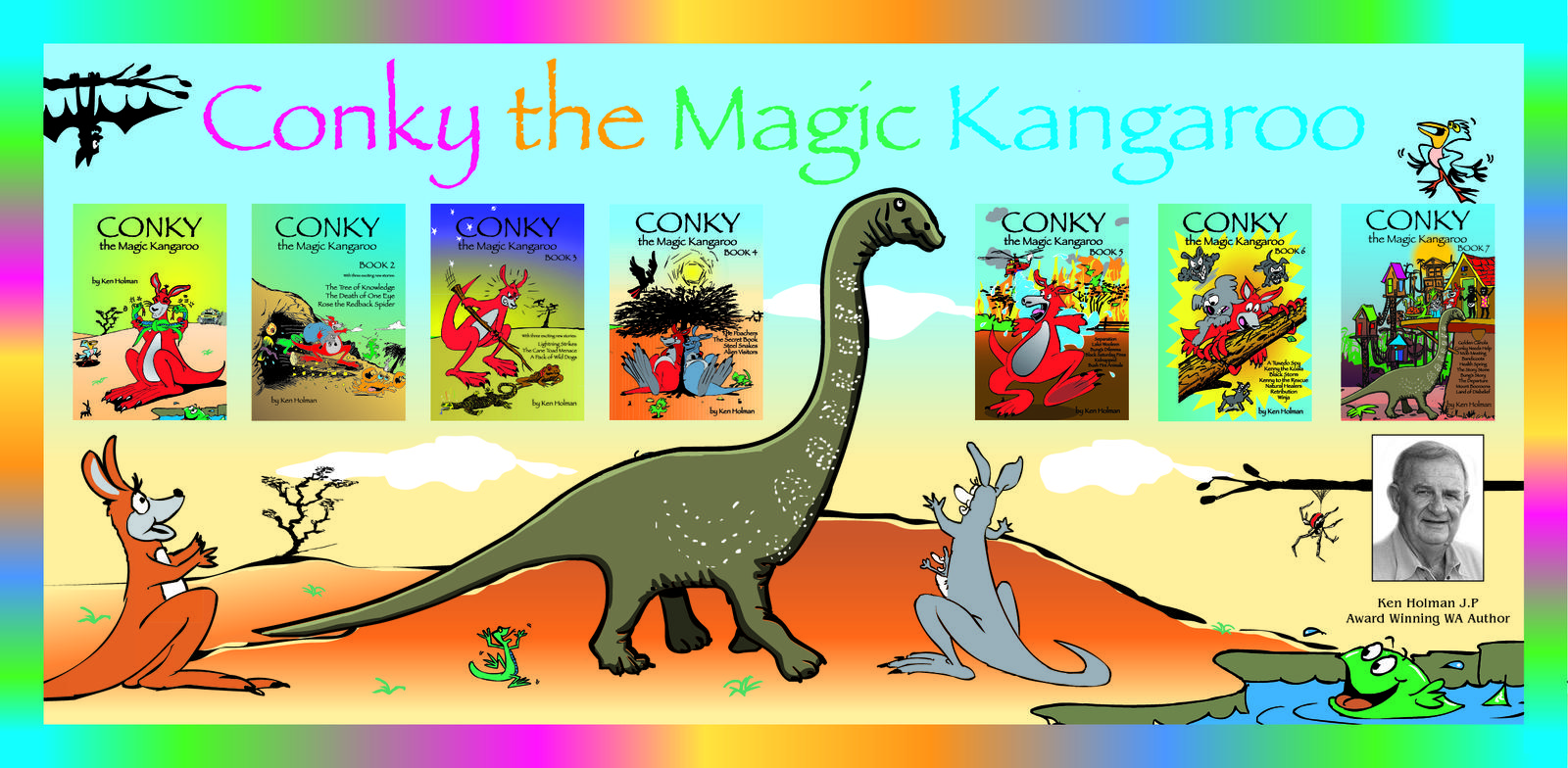 Conky the Magic Kangaroo 3