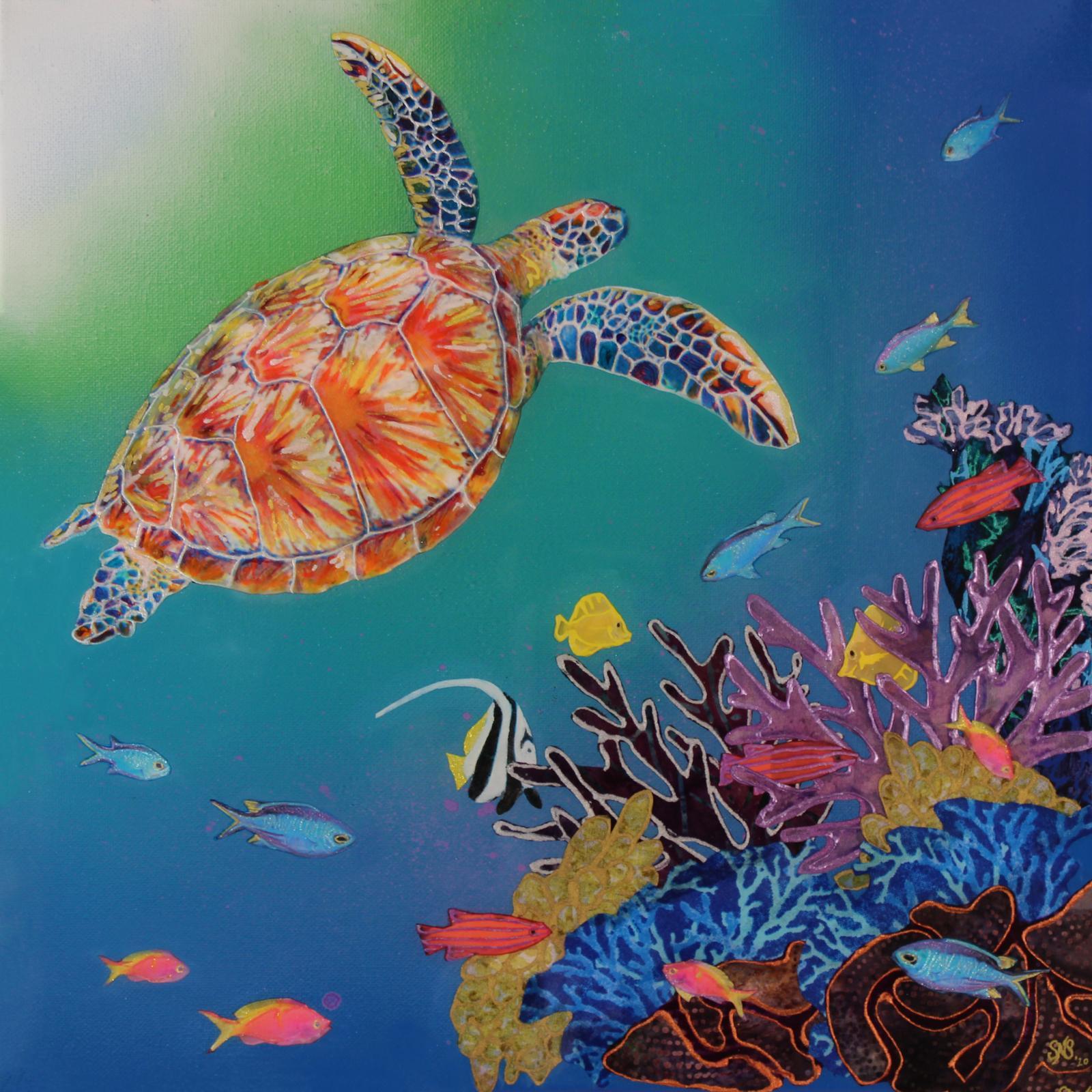 Sunlit Turtle
