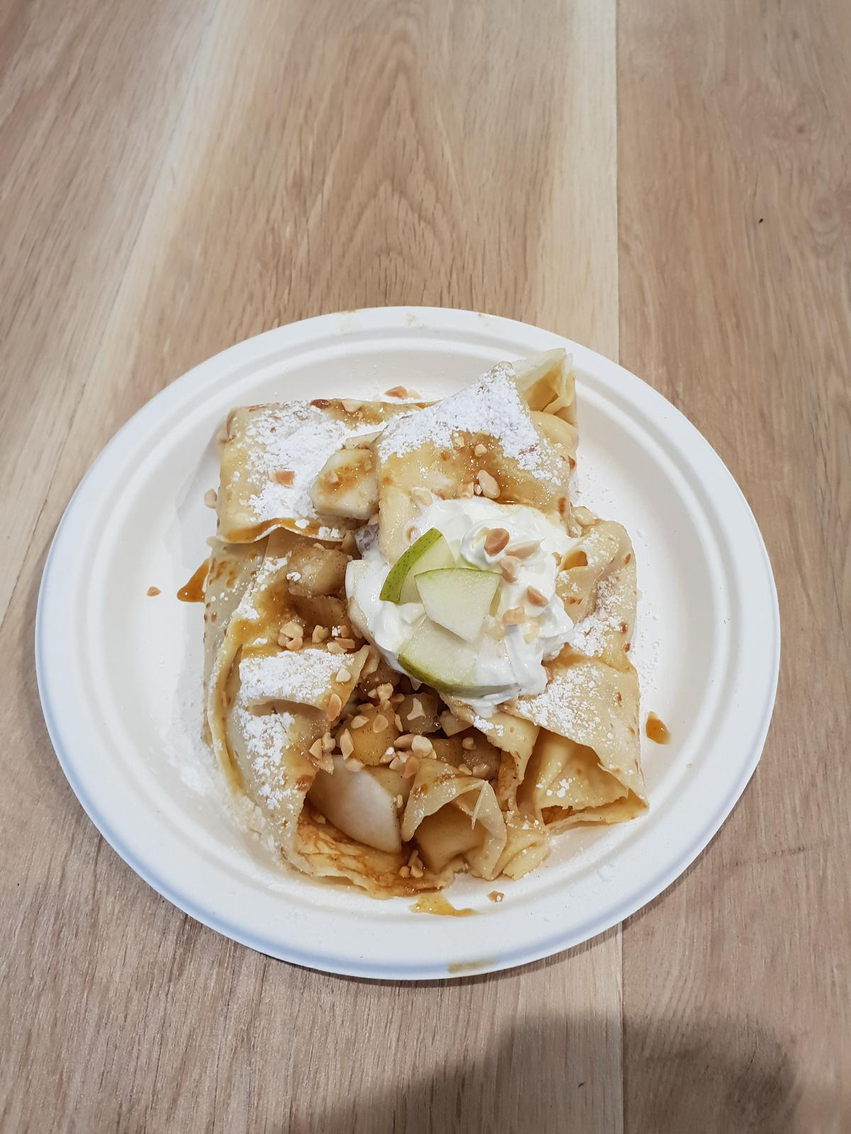 Apple Pear Crepe