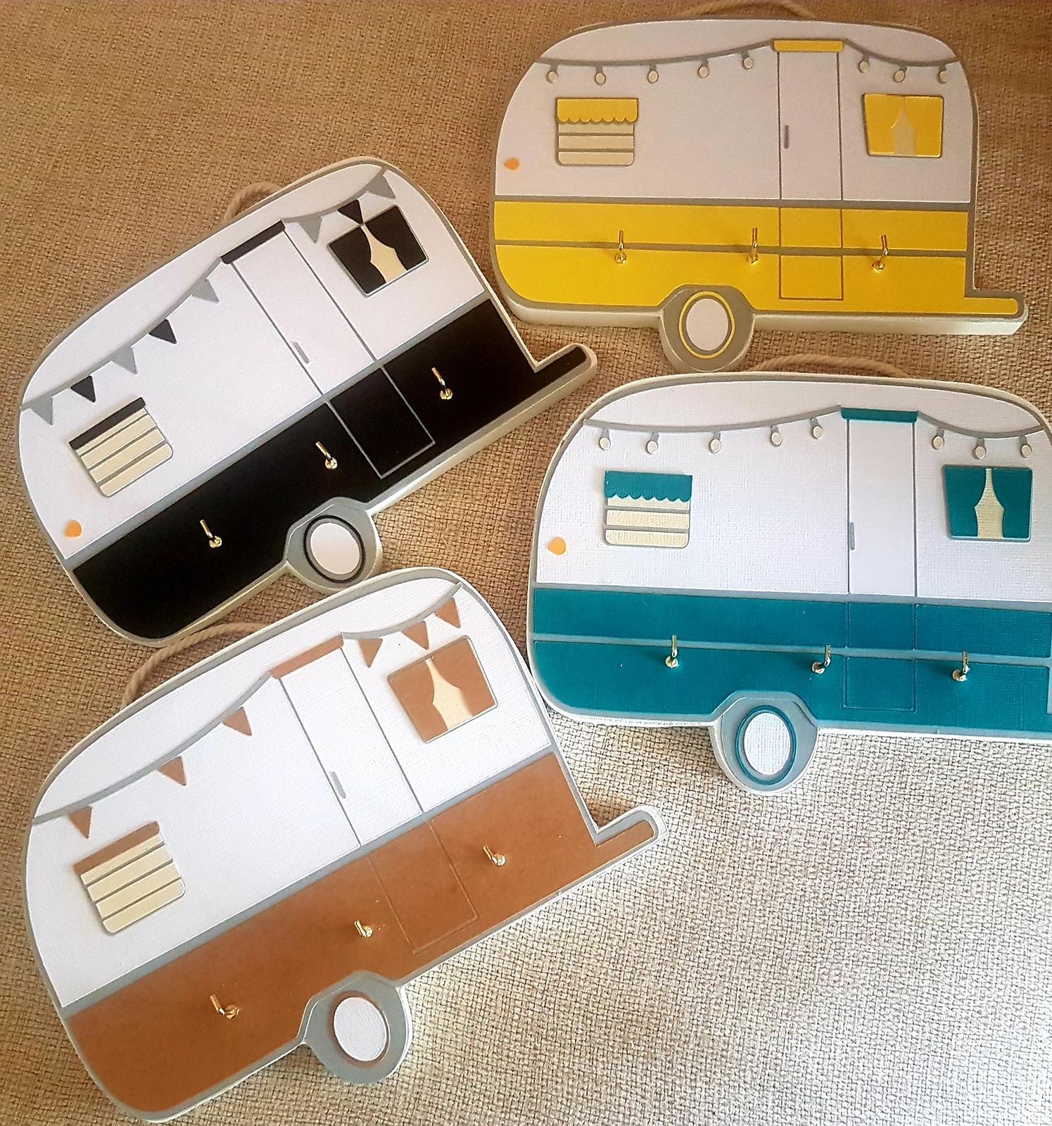 Caravan key holder