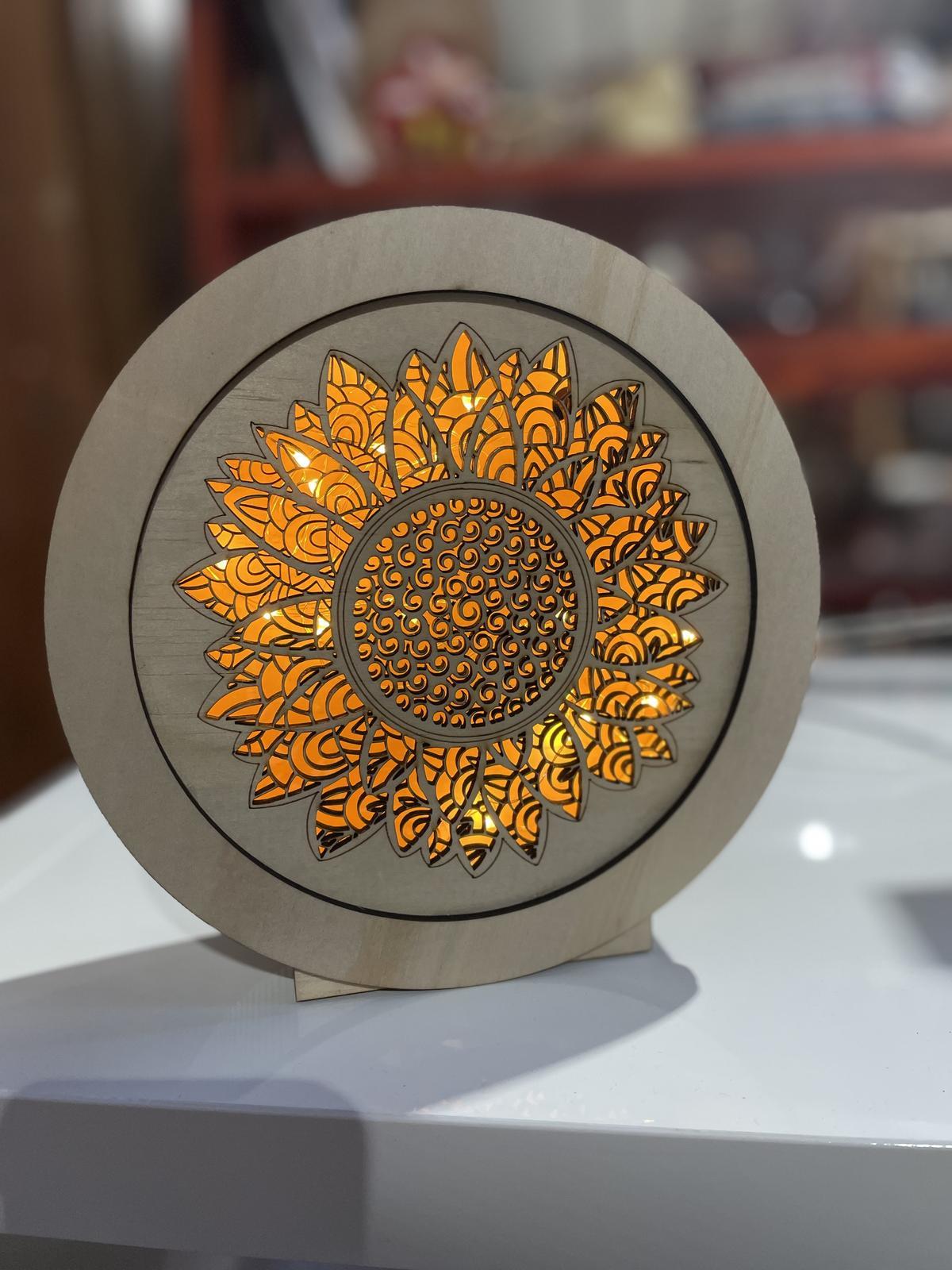 Sunflower Lightbox