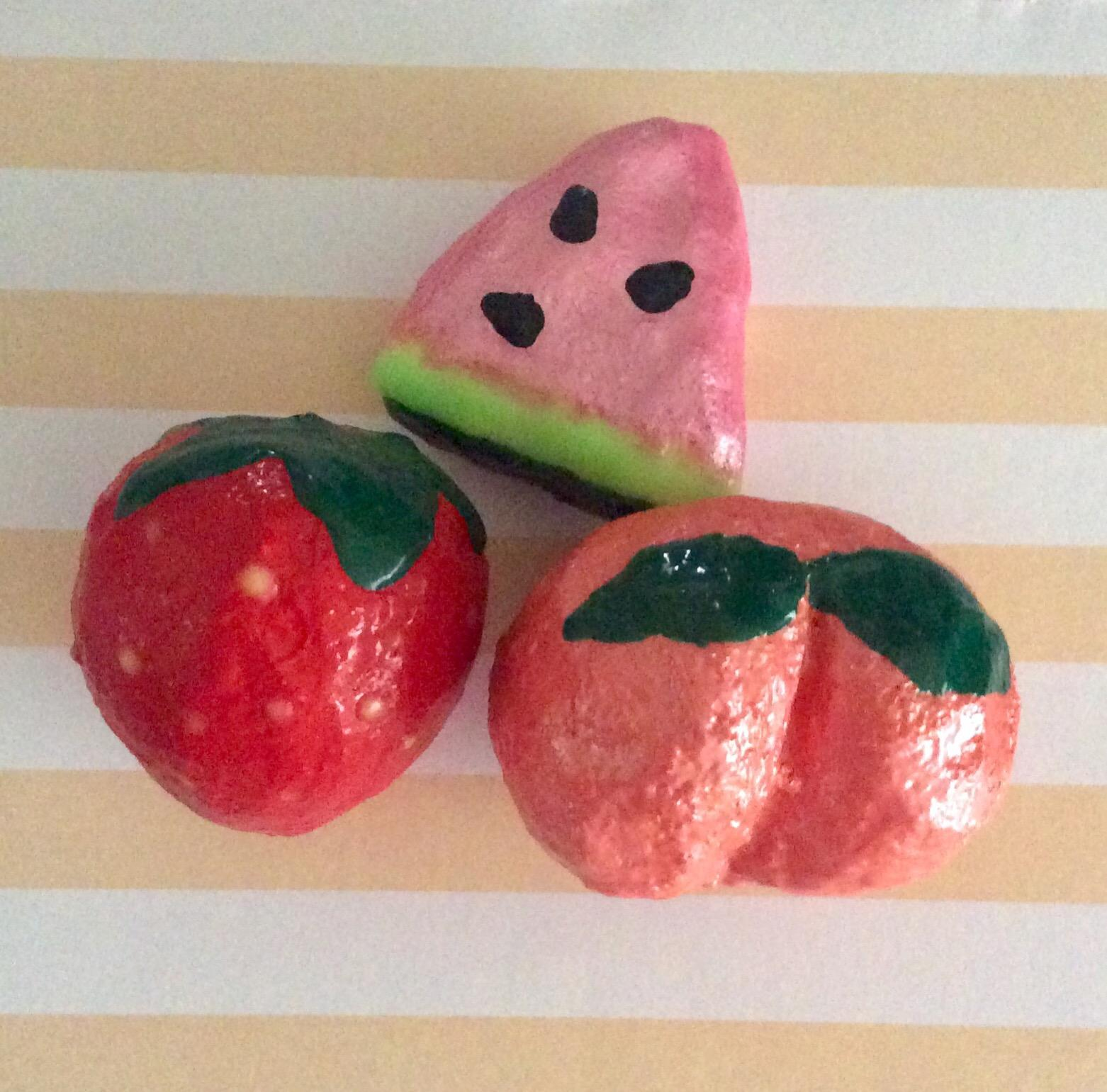 Mini Fruit Handmade Squishies