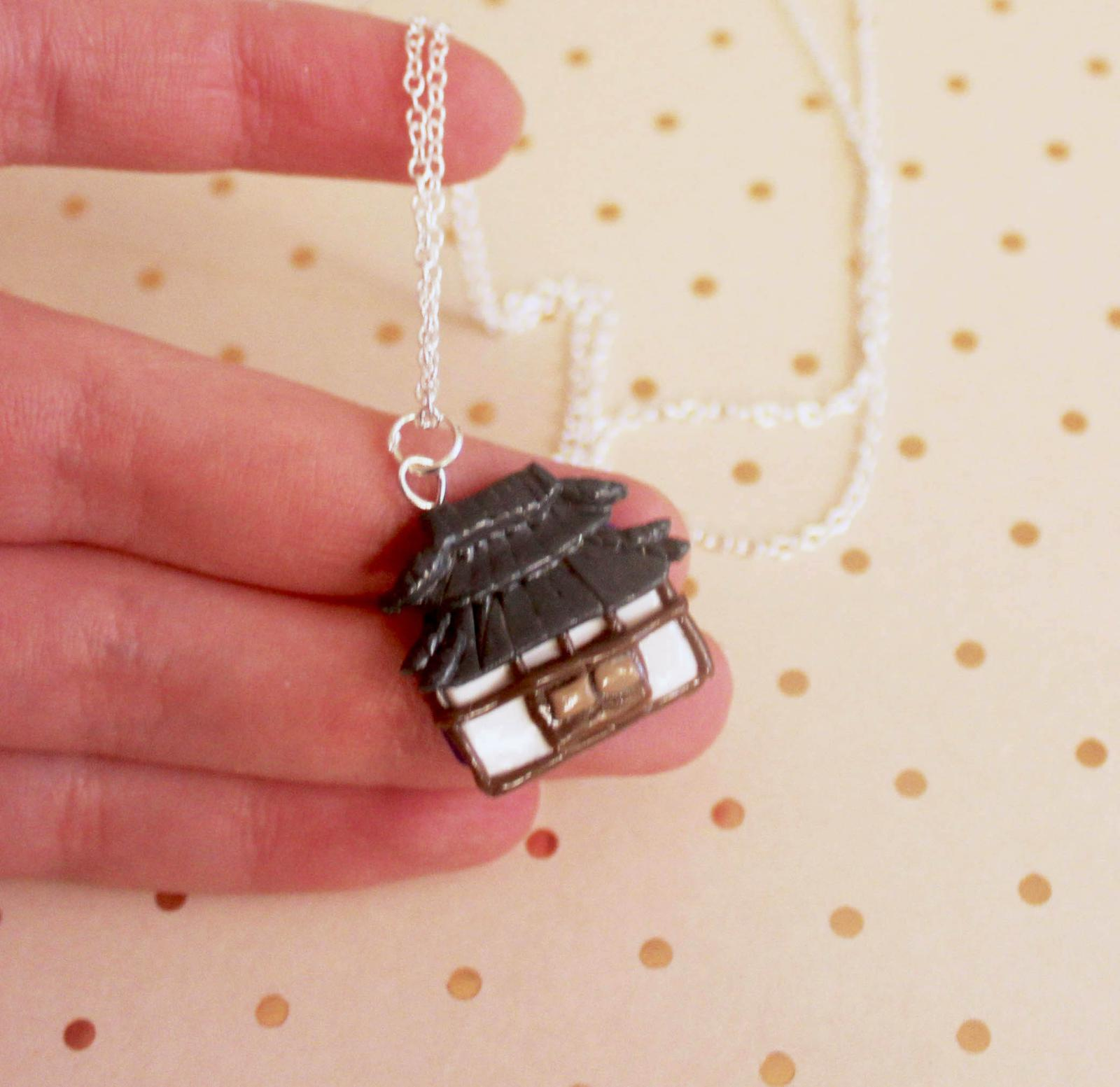 Japanese House Necklace