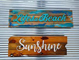 Lifes a beach & Sunshine
