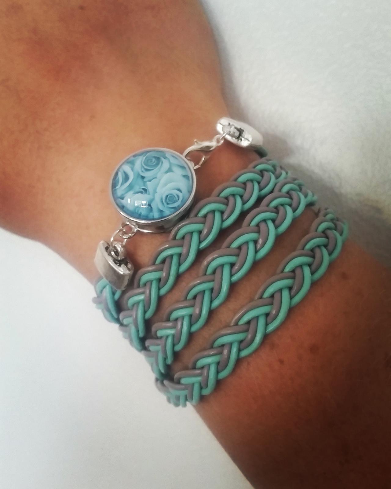 braided bracelet / anklet
