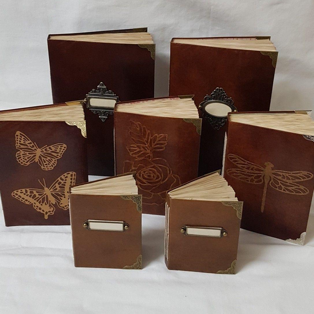 Leatherlook journals