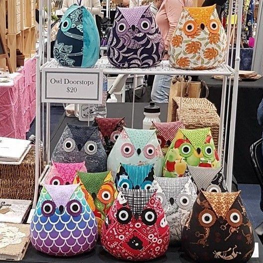 Owl Doorstops