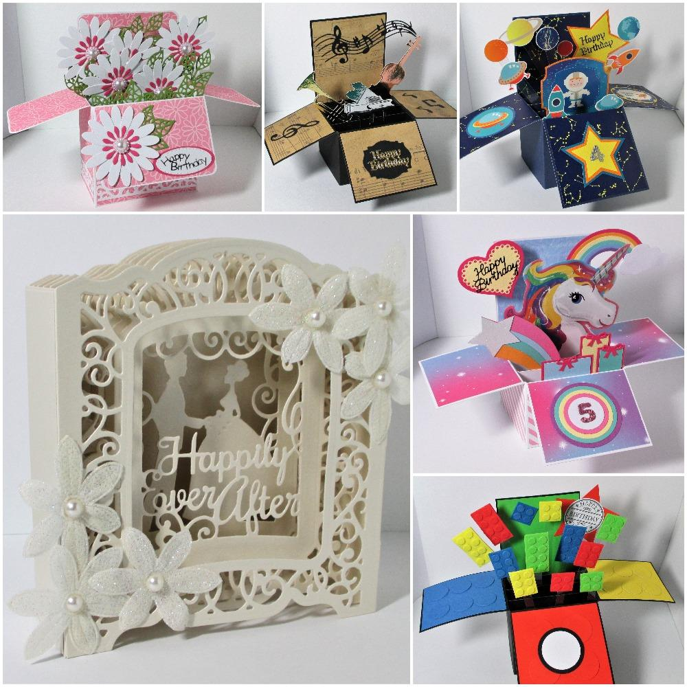 Special 3D and Box Cards