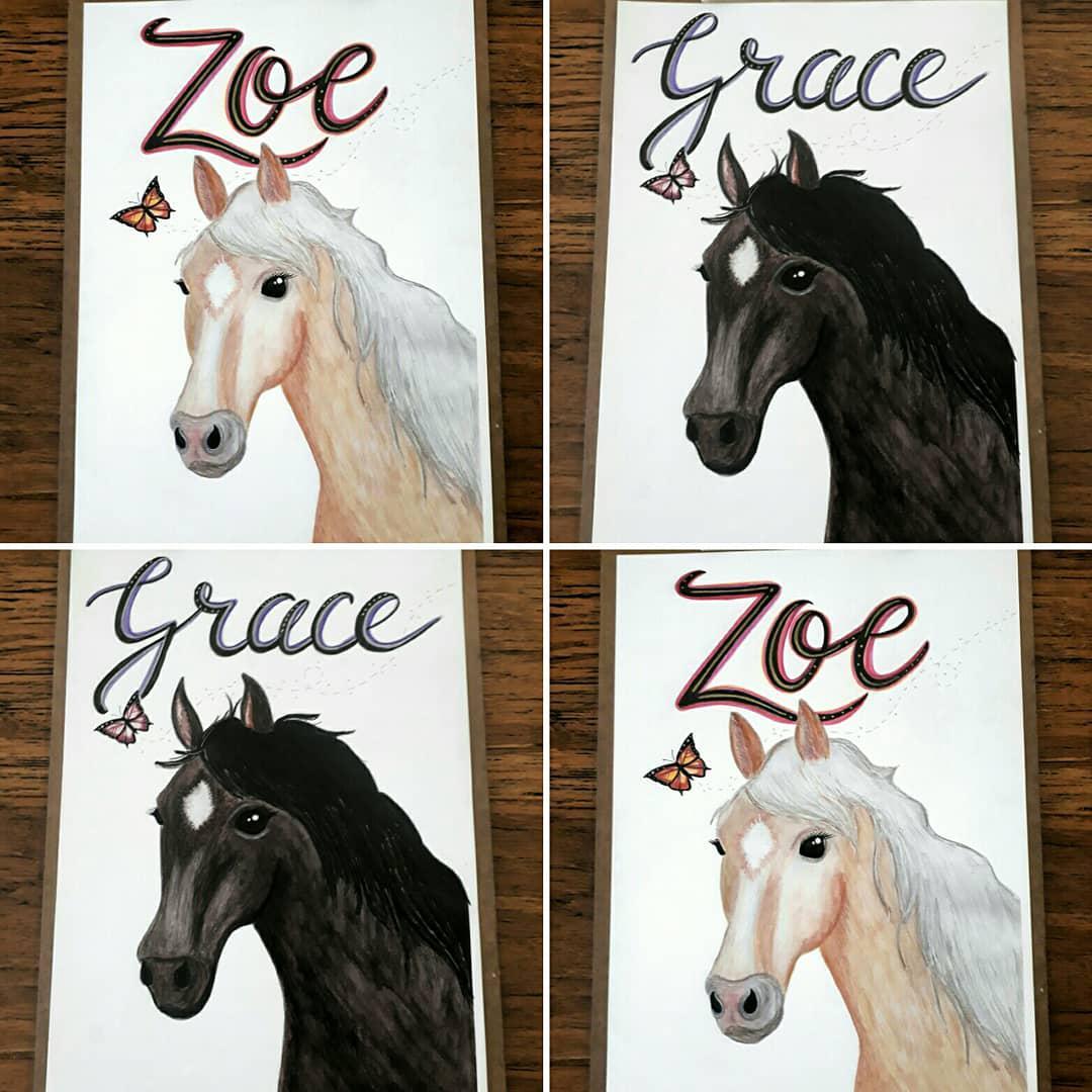 Personalised Horses