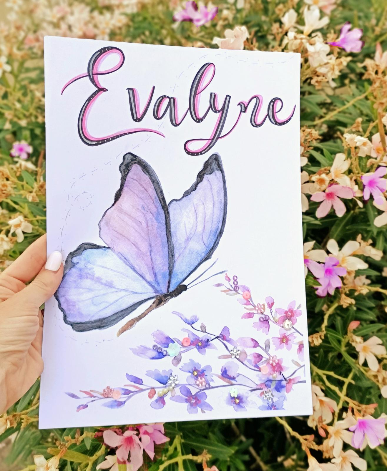 Personalised Butterfly