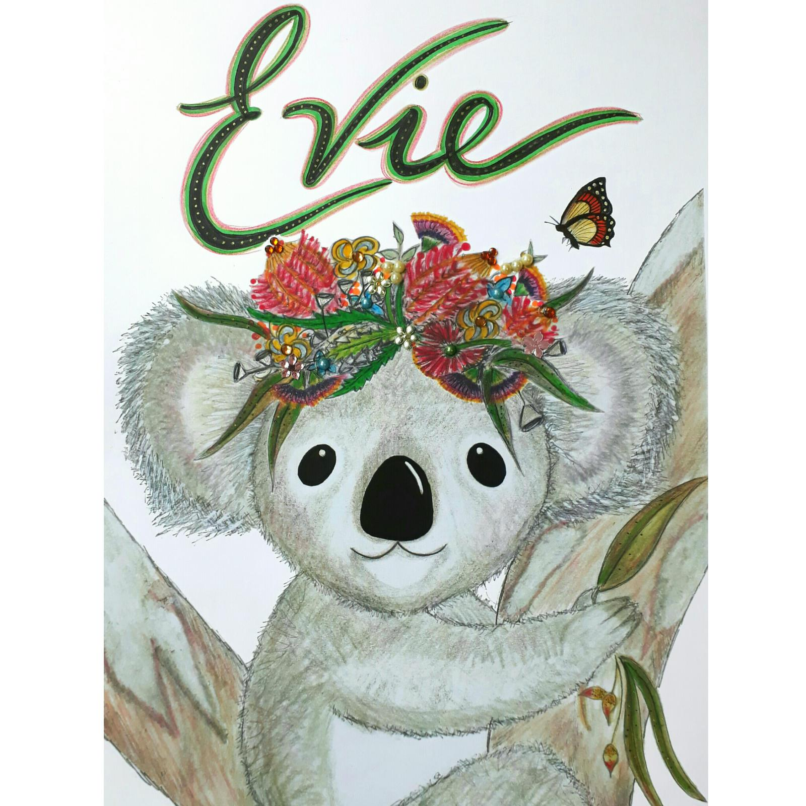 Personalised Girl Koala