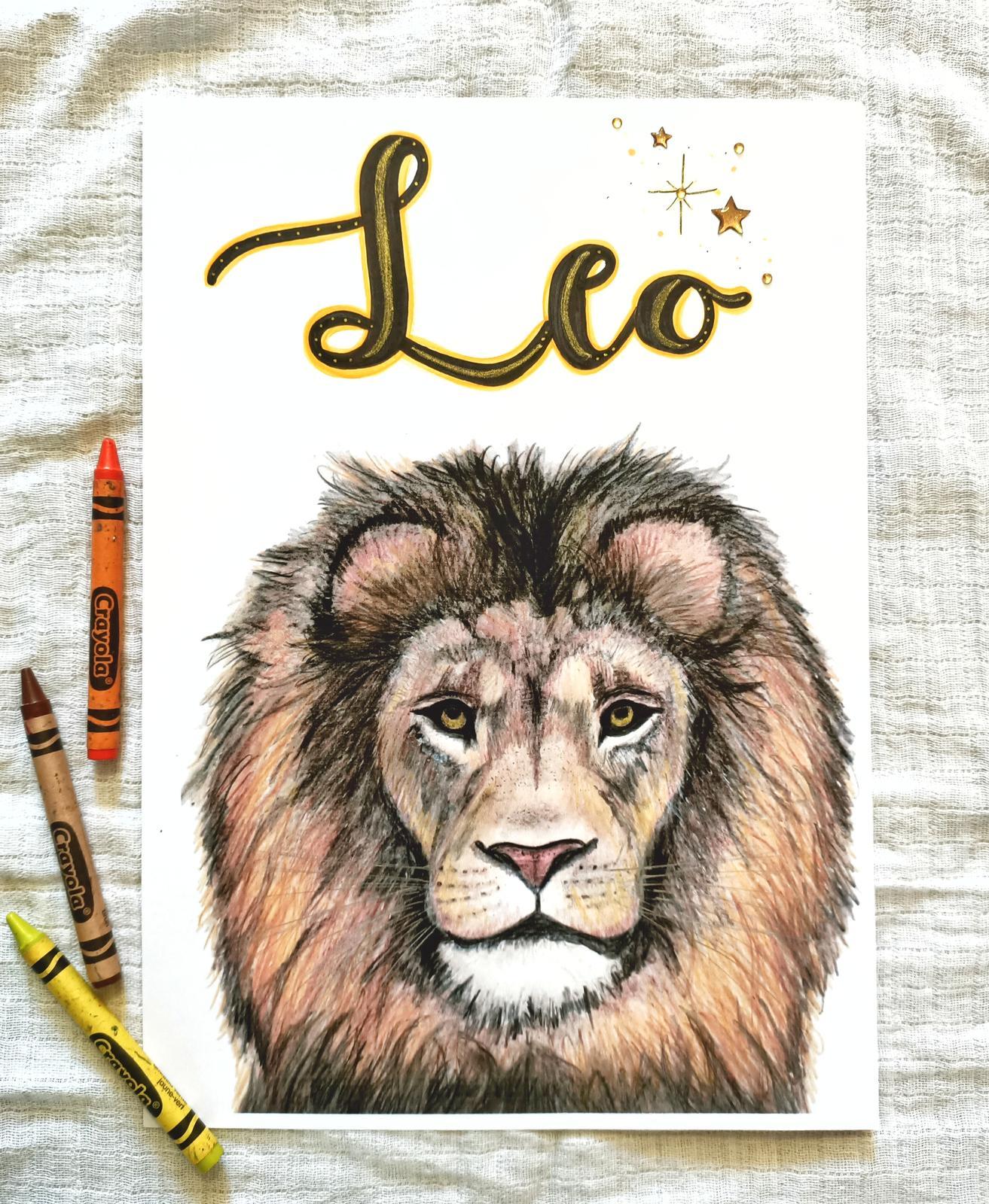 Personalised Lion