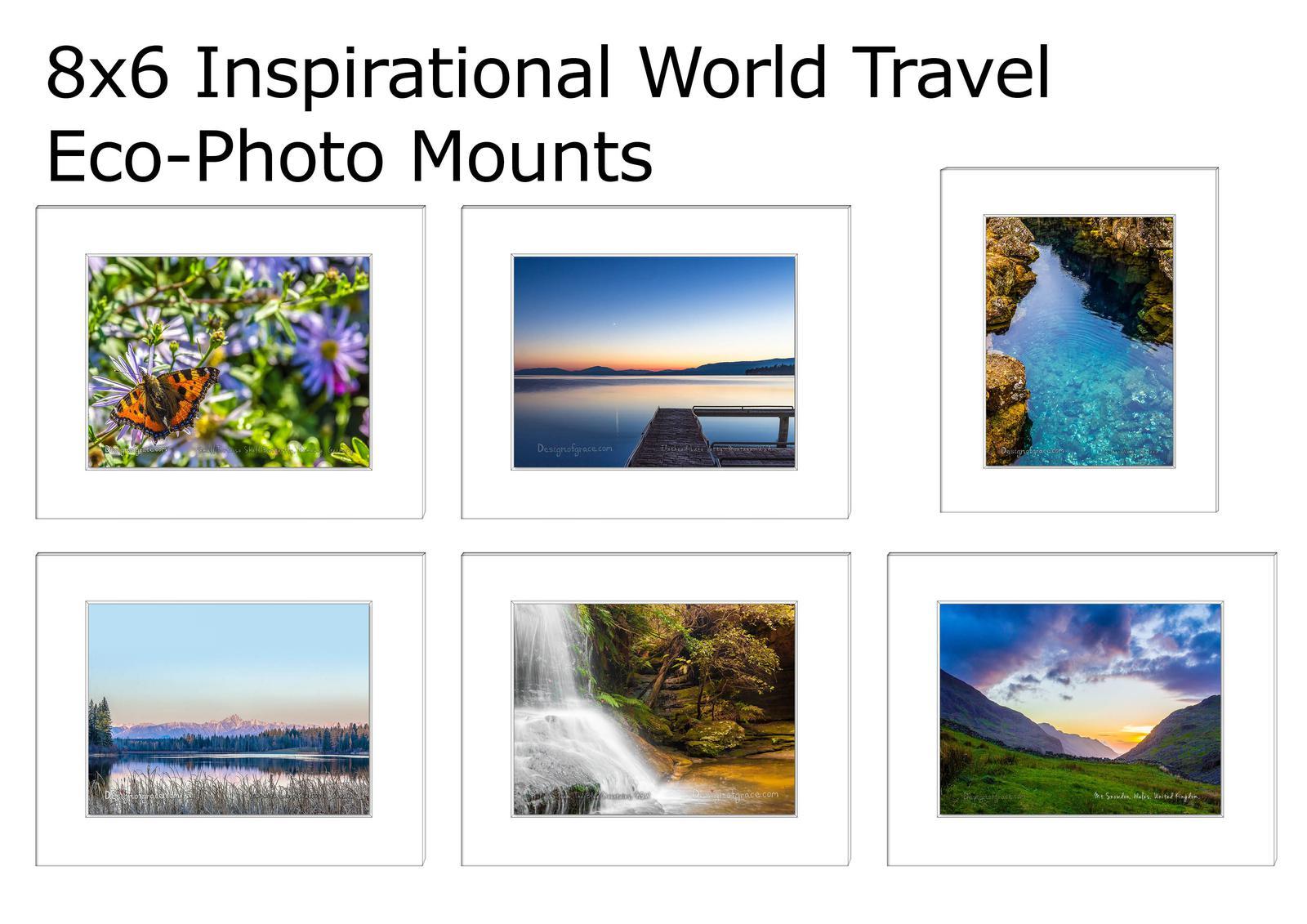 World Travel Nature Inspirational Eco Mounts