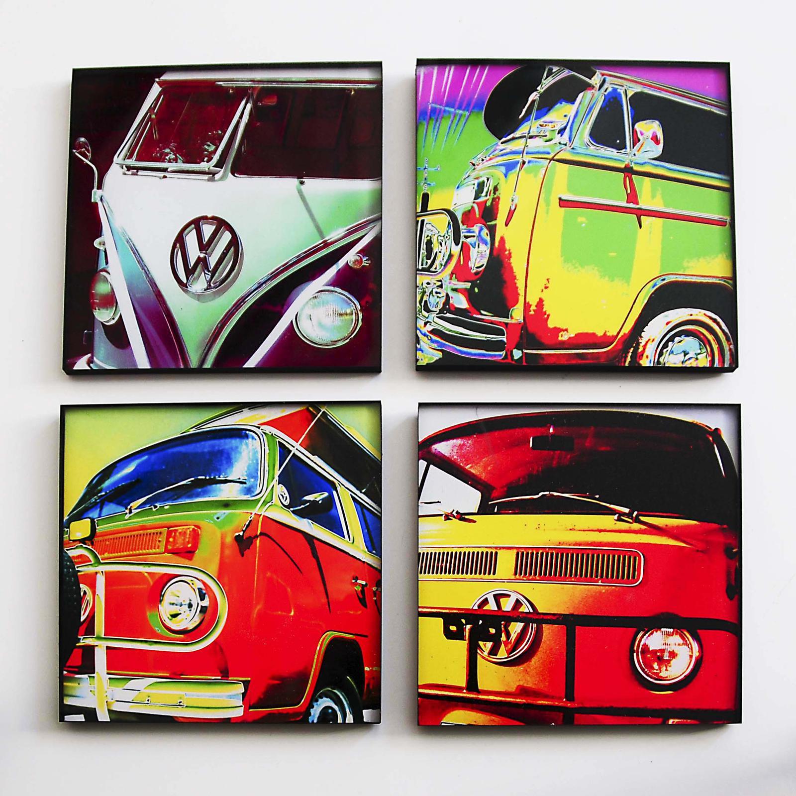 Acrylic photo wall deco blocks - also custom made
