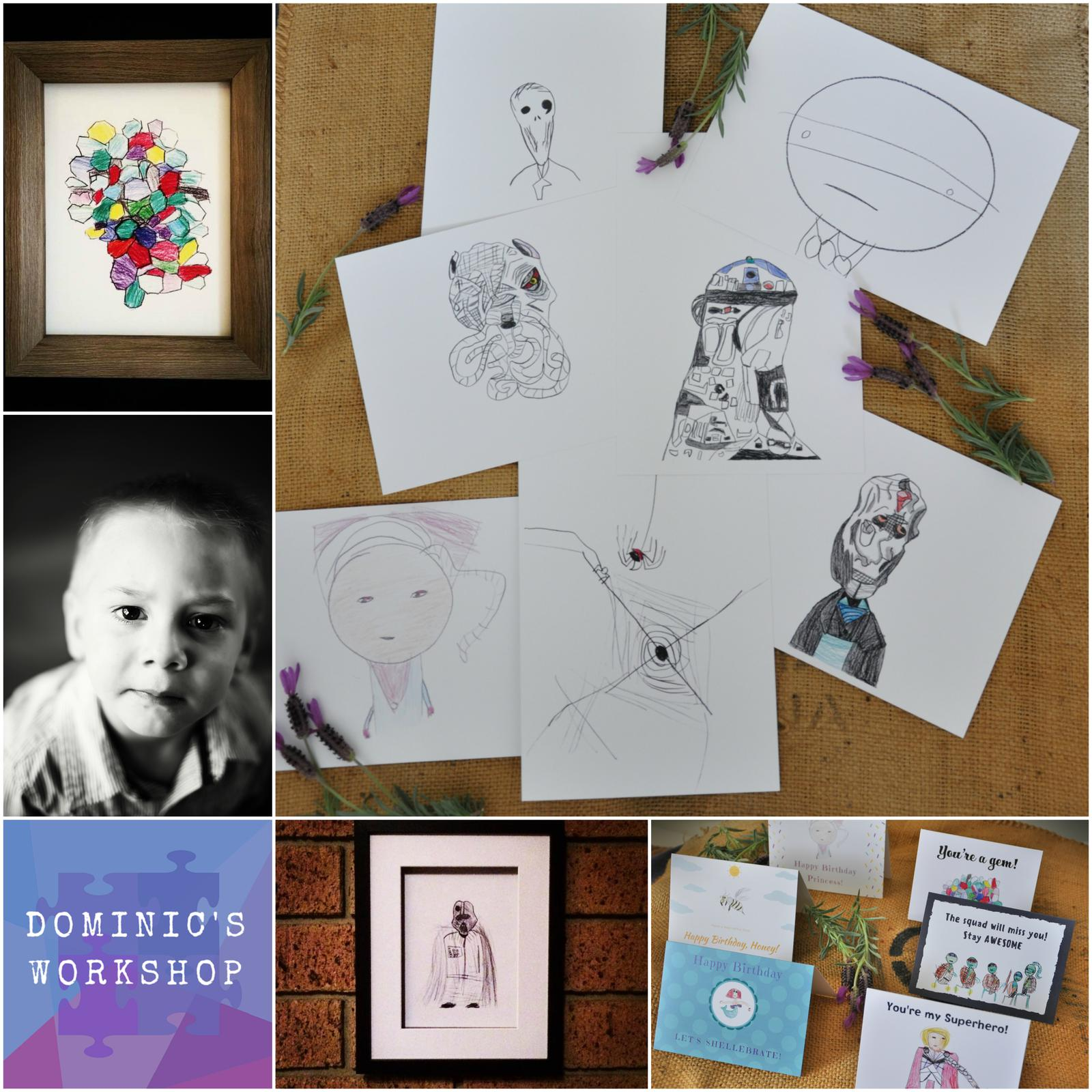 Dominic's Workshop collage