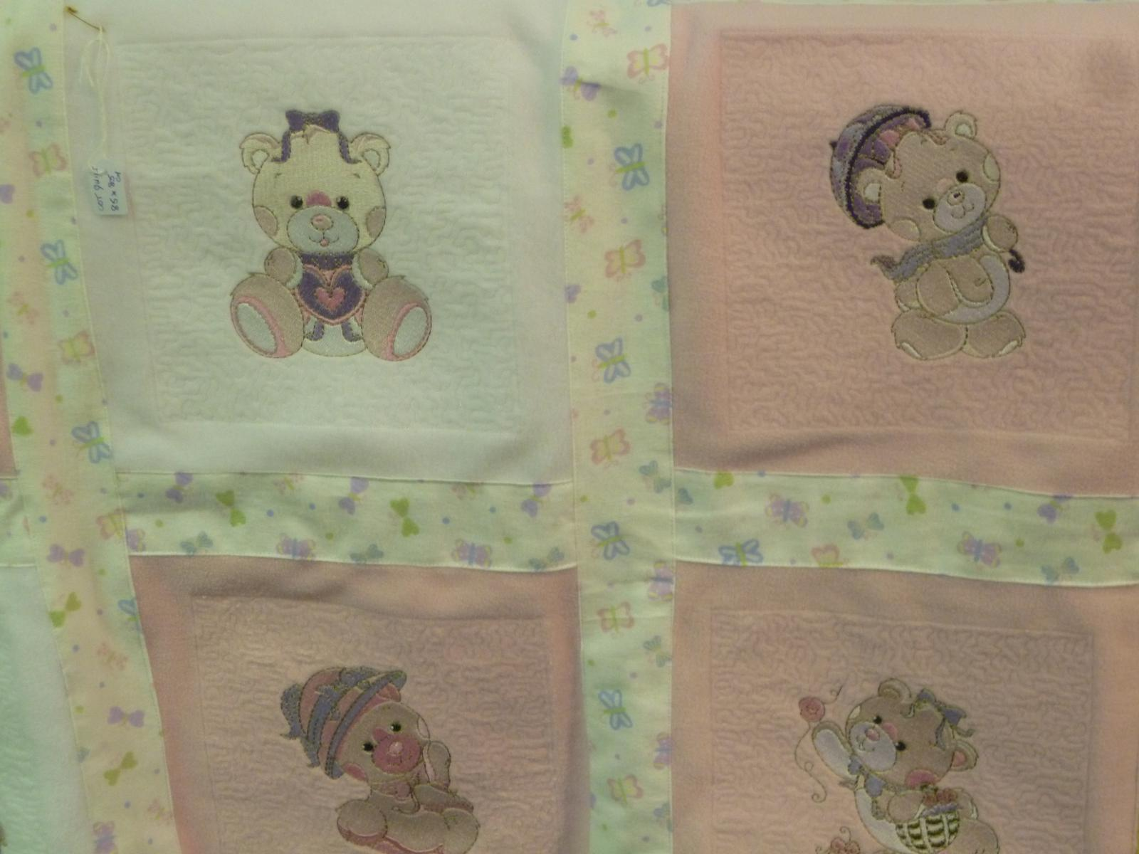 Baby quilts that are soft as a cloud