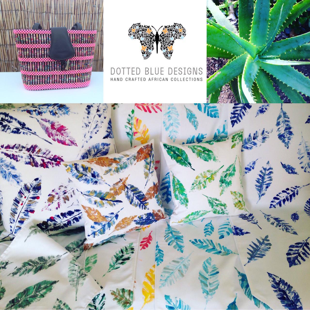 Table Decor & Home Decor - Handpainted Textile Designs
