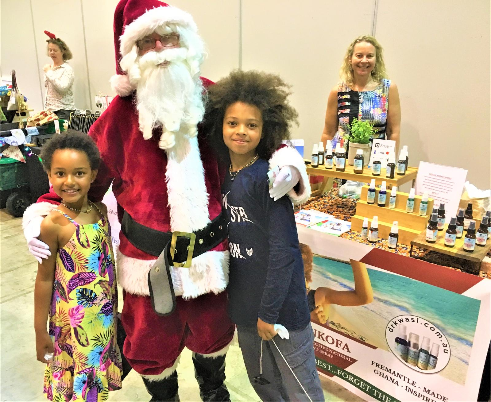With Santa @ PMM Perth Convention Centre