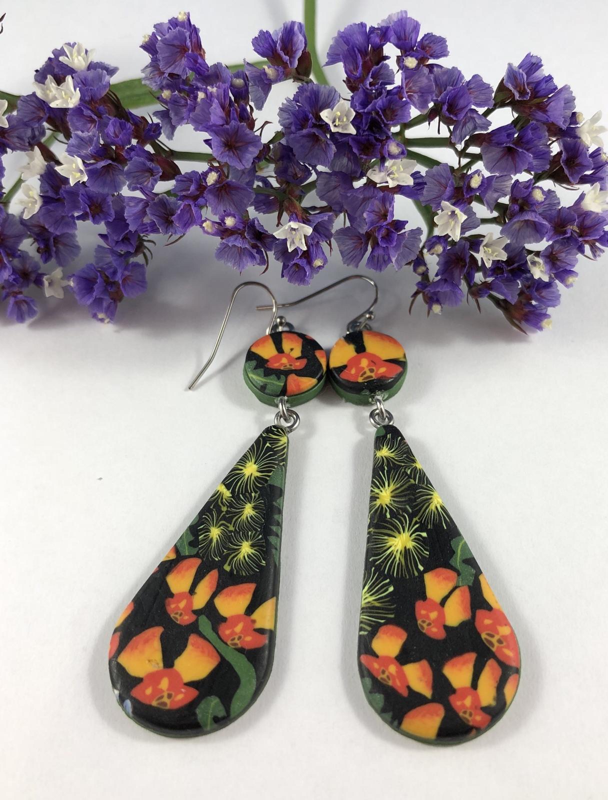 Wildflower earrings