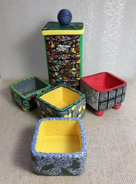 Tiny Boxes by Driftin' Designs